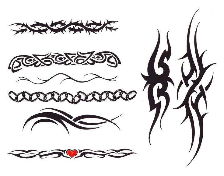 Tribal Name Tattoo Design: 26 Best Name Band Tattoo Designs Images On Pinterest