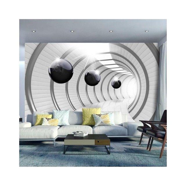 Papier Peint Futuristic Tunnel - Dimension - 350x245 RECOLLECTION | La Redoute Mobile | Papier ...