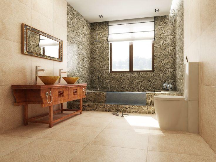 Imagen de pisos y azulejos de ba os decoraci n de ba o for Pizos y azulejos