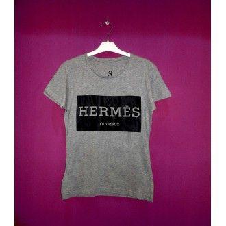 Hermes Olympus women Grey t-shirt