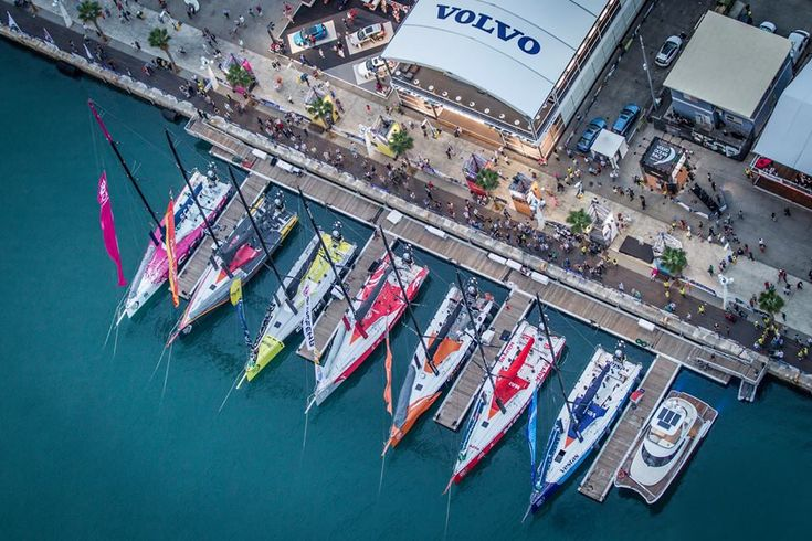 Another great image in preperation for the #VOR! Alicante, Volvo Ocean Race 2014-15... Enjoy the events wherever you may be attending! #Sailing