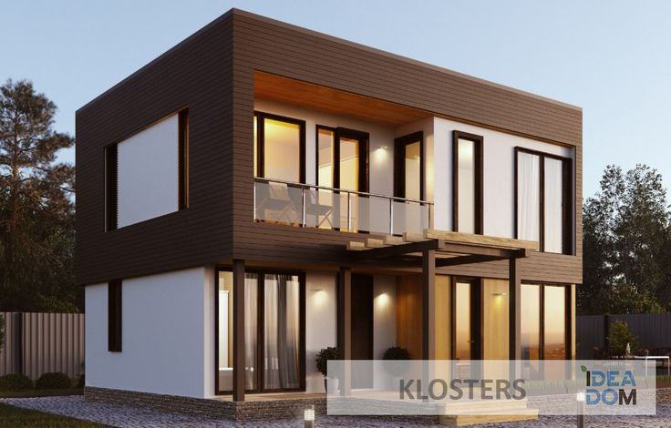 #house #prefab #prefabricated #ideadom #architecture #дом #дача #идеядом…