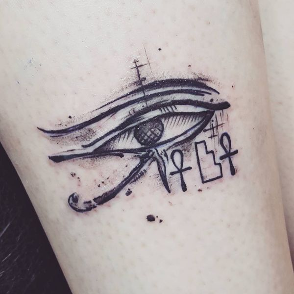 Egyptian Tattoos Designs With Meanings Flowertattooideas Com Eye Tattoo Egyptian Eye Tattoos Egyptian Tattoo