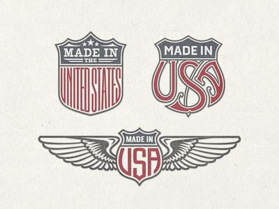 US Trade Emblems« Vector Bundle No.1 ... by Arno Kathollnig