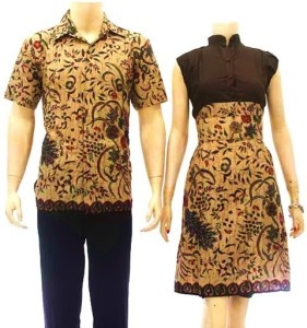 dress batik couple modern