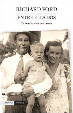 Entre ells dos : record dels meus pares / Richard Ford https://cataleg.ub.edu/record=b2235885~S1*cat En el seu llibre més personal i autobiogràfic, Richard Ford fa un emocionant retrat de la vida familiar a l'Amèrica de mitjan segle XX. Mentre explora la percepció canviant que els nens tenen dels seus pares, també reflexiona sobre l'impacte de la pèrdua i la devoció.
