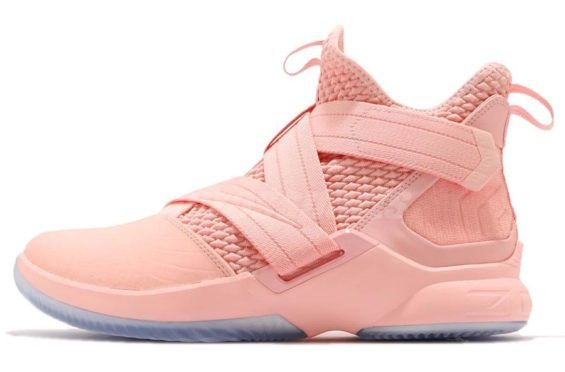 5da80e73ed35 First Look  Nike LeBron Soldier 12 Pink A new colorway of the Nike LeBron  Soldier