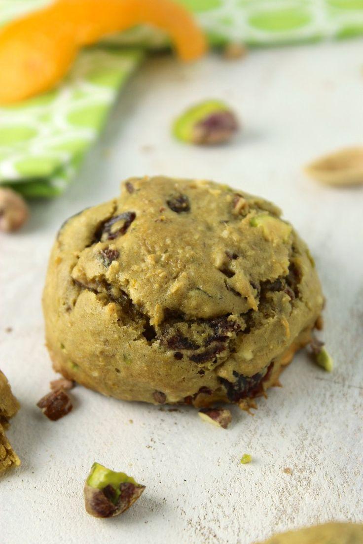 -Free Pistachio Orange Cookies | Dessert | Pinterest | Orange Cookies ...