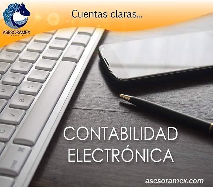 ¡Es momento de poner en orden tu Contabilidad Electrónica! Contáctanos #ConAsesoramexCuentasClaras #FelizSábado