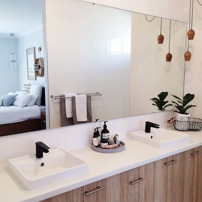 Room to grow in a newly built bright bungalow design sponge design sponge sneak peeks - Design sponge bathrooms ...