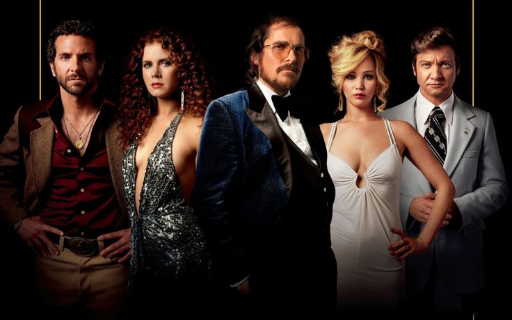 American Hustle Movie - maybe the best romcom