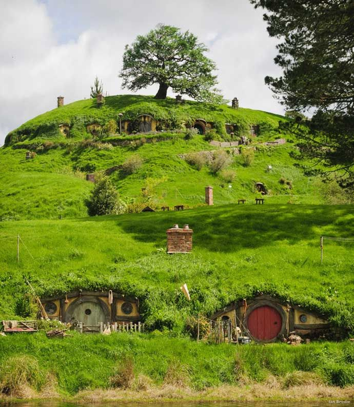 Scenes from the Lord of the Rings and The Hobbit you can visit while traveling to New Zealand! #Destination42 #DestinationWedding #honeymoon #wedding #NewZealand #kiwi #NewZealandtravel #adventure #vacation #Queenstown #NorthIsland #SouthIsland #honeymoonideas #honeymoondestinations #NewZealandWedding #romance