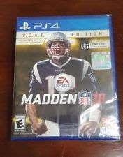 PS4 - Madden NFL 18: G.O.A.T Edition (Brand New) FAST Ship! GOAT Playstation 4