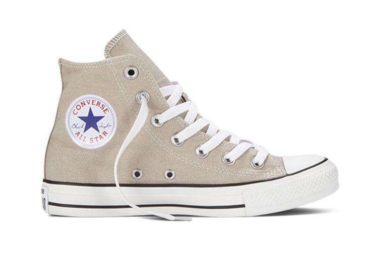 Кеды Converse (конверс) Chuck Taylor All Star 147130 светло-серые купить