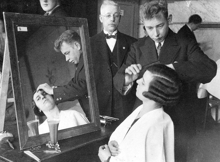 Hairdressing Apprenticeship Academy The Netherlands - Amsterdam, 1930s
