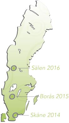 The O'Ringen, an annual event taking place in Sweden, is one of the more popular international orienteering events. #oringen