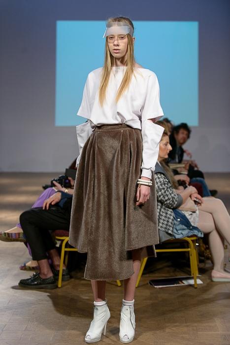 Fashion Week Poland OFF: Monika Gromadzińska jesień-zima 2013, fot. Seweryn Cieślik/Magnifique Studio