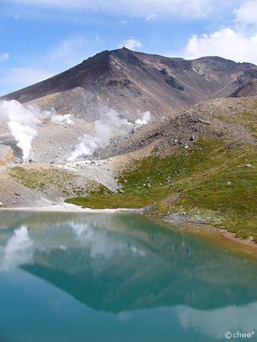 Mt. Asahidake, Sugatami Pond, Hokkaido, Japan