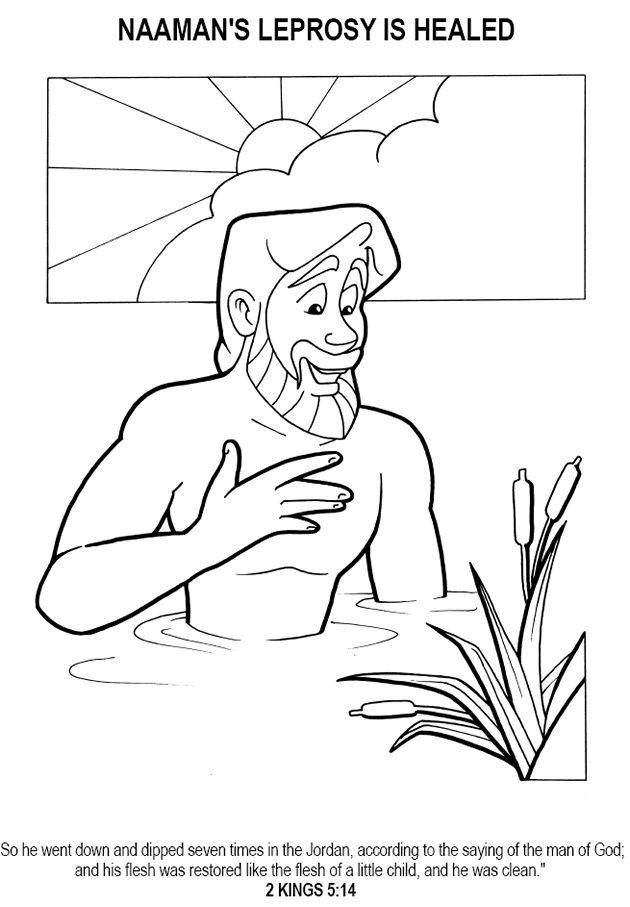 41 best Naaman images on Pinterest Drawings Bible activities