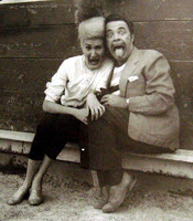 Muecas. Tin Tan and Vitola.