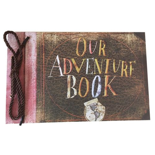 Like in the Pixar movie Up, create your own memory book and give it to your boyfriend. (Valentines Day gifts for boyfriend)
