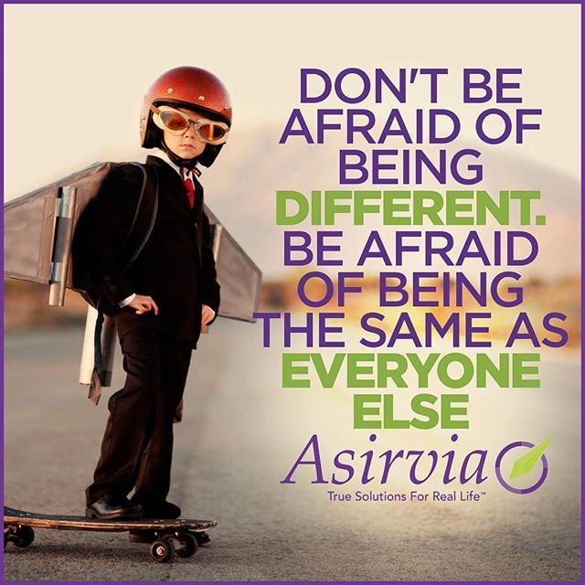 Tag a Friend Who is a Little Different But Still Inspires You. #AsiriviaGo #MLM #Live #Embrace #Mentor #Coaching #Business #Growth #PersonalDevelopment #LoveYourLife #Believe #Potential #Possibilities #Dreams #Goals #Ambition #Inspire #Instagram #Entrepreneur #Leaders #Create #IAmAsirvia #AsirviaLife #YSBH #DirectSales #AffiliateMarketing #Happy #Marketing #WorkFromHome #Quotes