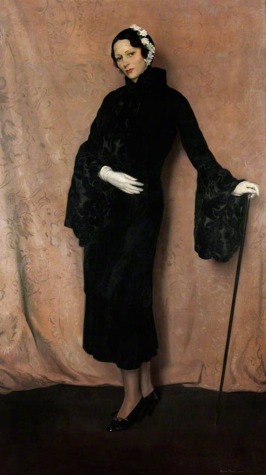 My Wife (Pauline Miller, 1901–1950), by Sir James Gunn