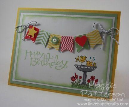270 best SU Birthday Cards images – Papercraft Birthday Card