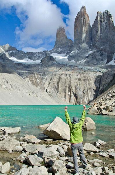 Mirador Las Torres, Parque Nacional Del Paine, Chile