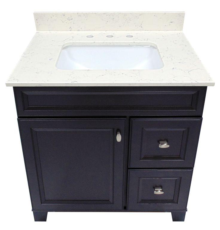 bathroom cabinet online design tool%0A US Marble Arctic Carrara Quartz Vanity Top
