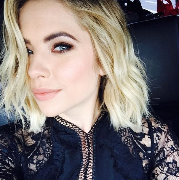 Ashley's makeup and hair for the Ellen Show! | Pretty Little Liars