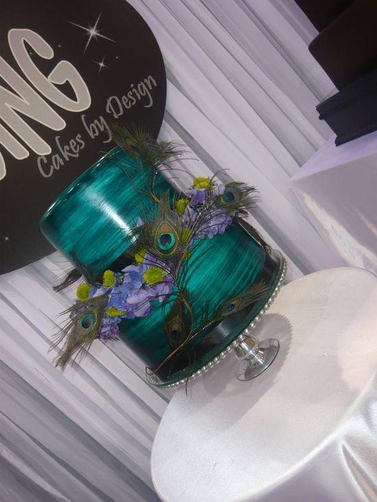 Peacock#Wedding Cake| http://specialweddingcakeideas576.blogspot.com