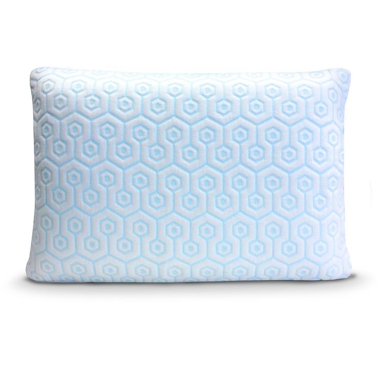 HYDROLOGIE Pillow - Best Cooling Pillow in Standard Queen or King Size Combines Both Ventilated Cooling Gel Memory Foam & Gel Fiber Bed Pillow Covered with Cool-to the-Touch Cooling Pillow Case