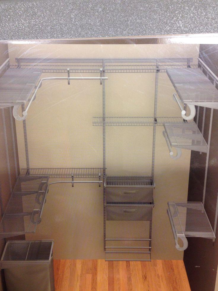 closetmaid nickel wire closet - Closetmaid Design Ideas