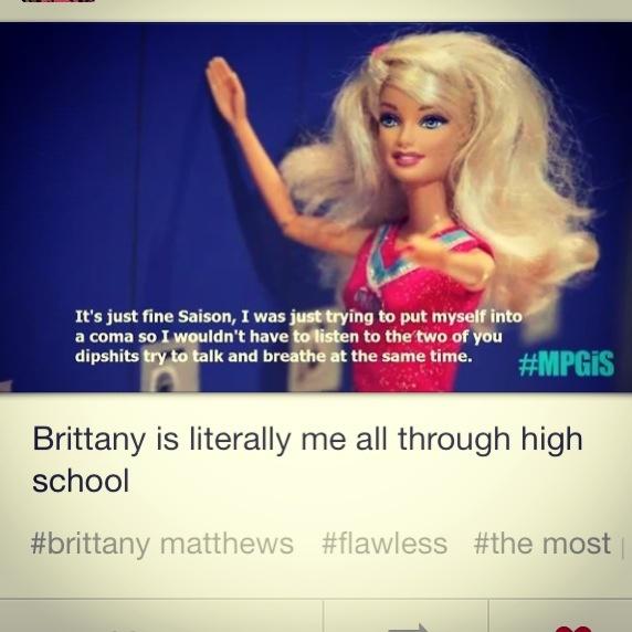 I Love Brittany Matthews!