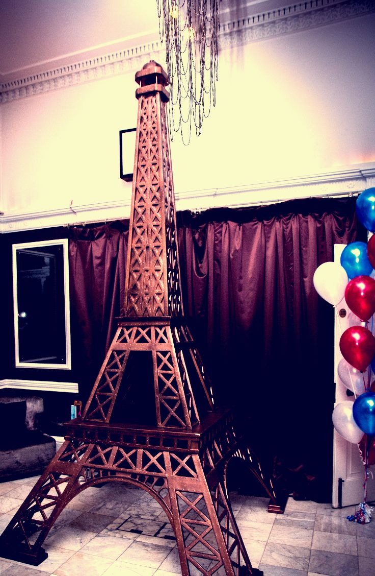 Eiffel tower, French party, Happy Bastille day!