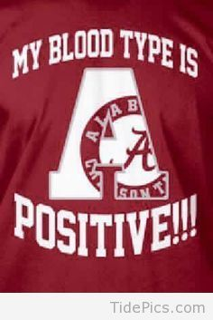 A Positive! - Alabama Crimson Tide Pictures | TidePics.com