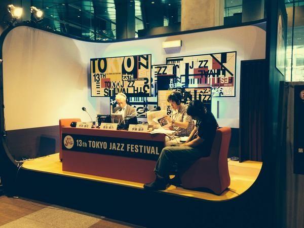 渡辺シュンスケ、急遽ですが、 16:40〜より、NHK-FM 第13回 東京JAZZ に生出演。 国際フォーラムホールA FMブースにてインタビューです  http://t.co/UjDesMIEOY  #radiru #nhkfm