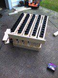 How to Make a Fourth of July Firework 50-Shot Angled Mortar Tube Rack!