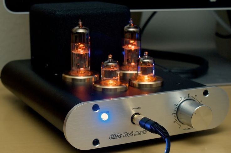 Little Dot MK III vacuum tube OTL headphone amp