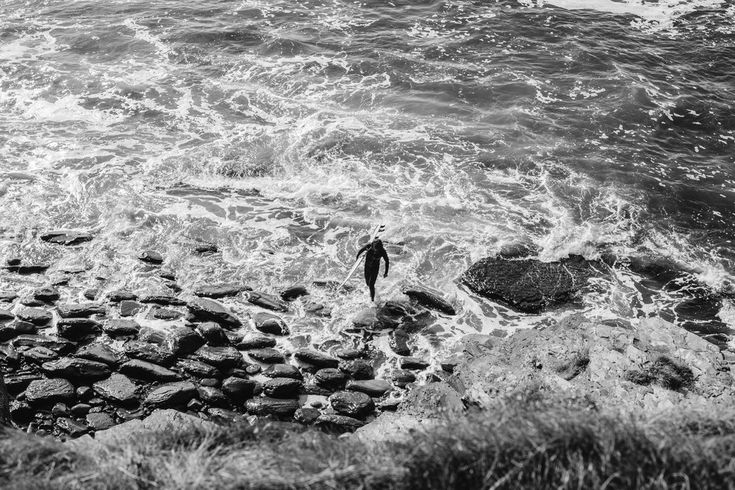 Lahinch Surfer Ireland Toronto Travel Photographers - Suech and Beck