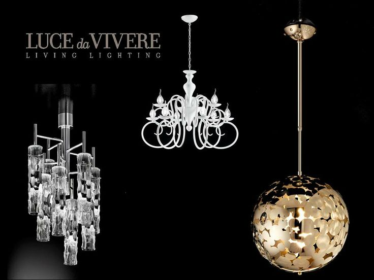 The Best Sellers Collections by Luce da Vivere Living Lighting. Bubbles, Decò, Bamboo.
