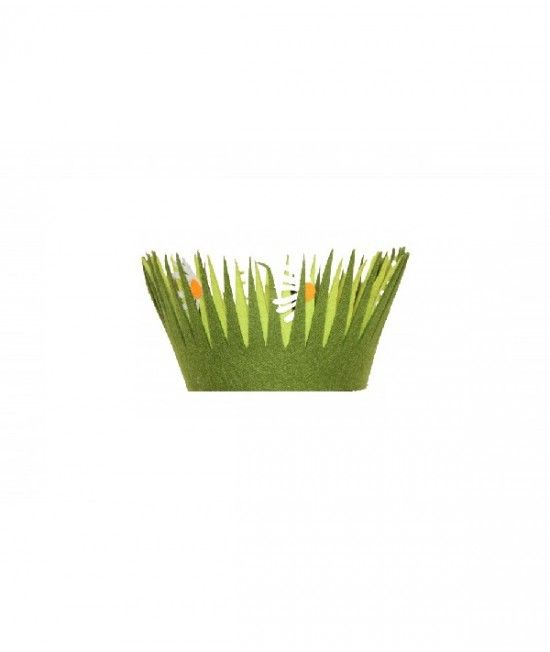 #Cos realizat din pasla cu tematica de #Paste, ideal pentru a decora masa festiva. #cadou  Dimensiuni: 13.5 cm x 13.5 cm