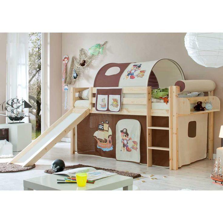 Kinderhochbett mit rutsche selber bauen  Die besten 25+ Hochbett rutsche Ideen auf Pinterest | Etagenbett ...