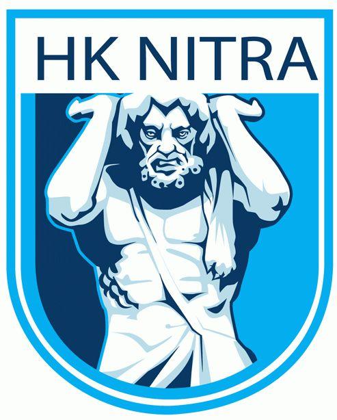HK Nitra Primary Logo (2012) - Present. Raise the roof, HK Nitra!