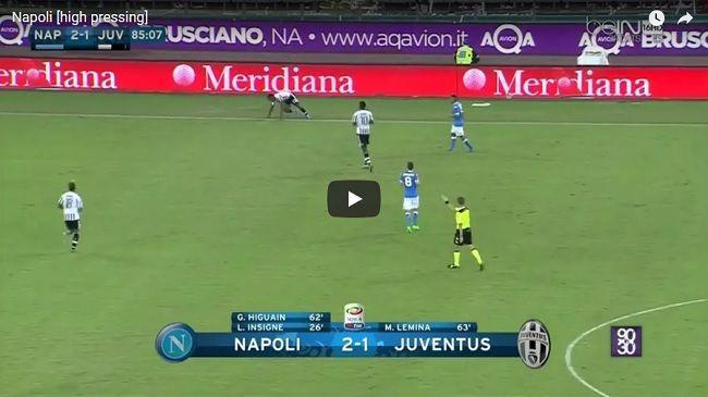 Gra pressingiem SSC Napoli Maurizio Sarriego • Materiał szkoleniowy jak grać skutecznie wysokim pressingiem w piłce nożnej • Zobacz #trening #pressing #napoli #pilkanozna #futbol #sport #taktyka