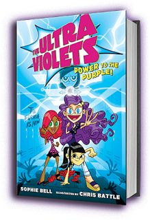 Children's Book #Giveaway: The UltraViolets Power to the Purple