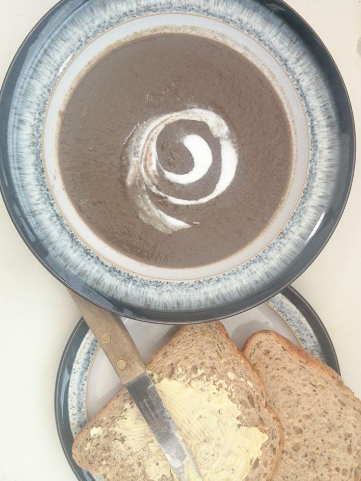 The Best Syn Free Creamy Mushroom Soup Recipe - Slimming World Friendly - EE