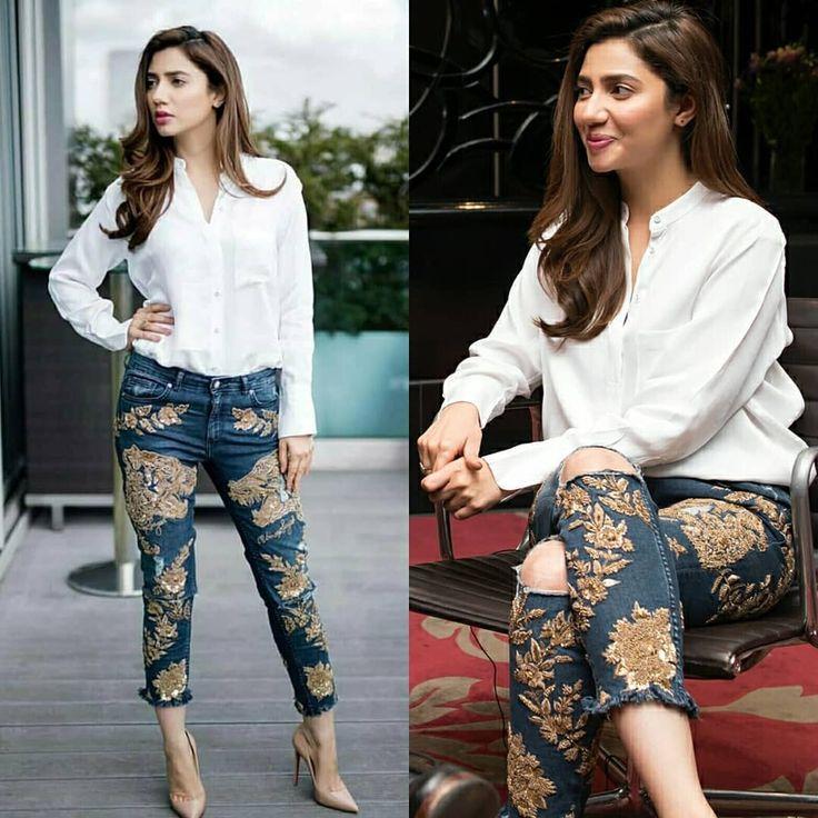 Mahira Khan  Women Blouses Fashion, Pakistani Outfits -3306