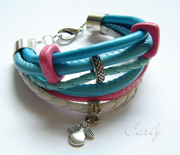 ANGEL leather bracelet